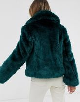 ASOS Faux Fur Plain Coats
