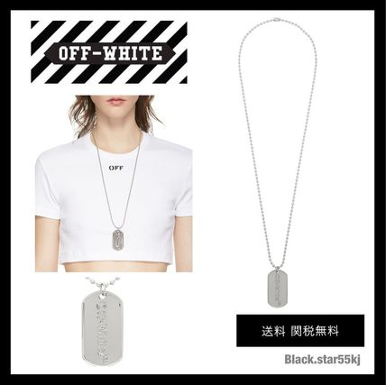 Casual Style Unisex Initial Street Style Silver