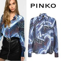 PINKO Long Sleeves Medium Office Style Shirts & Blouses