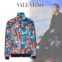 VALENTINO Other Animal Patterns Oversized Track Jackets