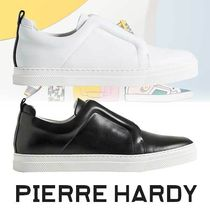 Pierre Hardy Plain Leather Sneakers