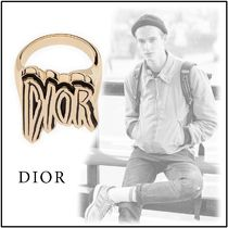 Christian Dior 2019-20AW DIOR AND RAYMOND PETTIBON gold M L ring