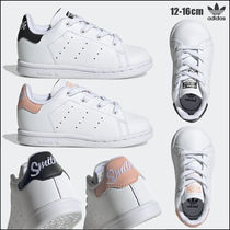 adidas STAN SMITH Unisex Blended Fabrics Street Style Baby Girl Shoes