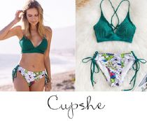 CUPSHE Flower Patterns Beachwear