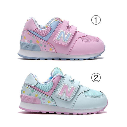 New Balance Dad Sneakers Unisex Blended Fabrics Street Style