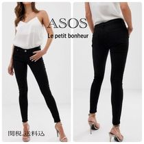 ASOS Denim Plain Long Skinny Pants