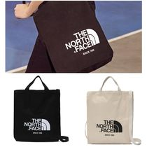 THE NORTH FACE WHITE LABEL Unisex Street Style Totes
