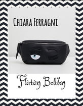 Chiara Ferragni Casual Style Leather Bags