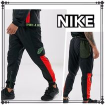 Nike Tapered Pants Nylon Street Style Tapered Pants