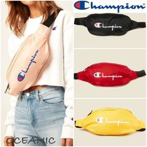 CHAMPION Casual Style Unisex Street Style Plain Shoulder Bags