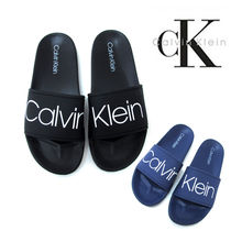 Calvin Klein Plain Shower Shoes PVC Clothing Shower Sandals