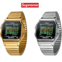 Supreme Unisex Street Style Collaboration Mechanical Watch