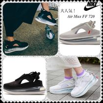 Nike AIR MAX 720 Platform Casual Style Unisex Street Style Leather