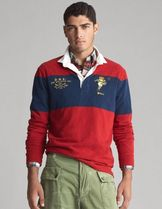 POLO RALPH LAUREN Pullovers Long Sleeves Cotton Polos