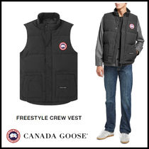 CANADA GOOSE FREESTYLE VEST Street Style Plain Down Jackets