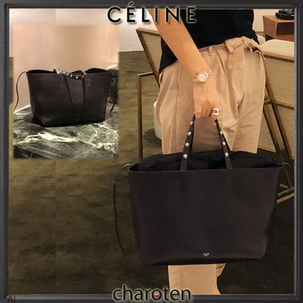 CELINE Mothers Bags Unisex Tassel Studded Mothers Bags