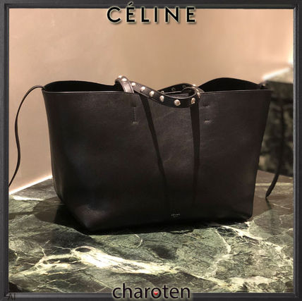 CELINE Mothers Bags Unisex Tassel Studded Mothers Bags 3