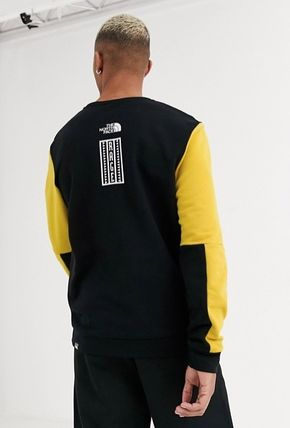 THE NORTH FACE Sweatshirts Crew Neck Pullovers Unisex Street Style Long Sleeves Plain 3