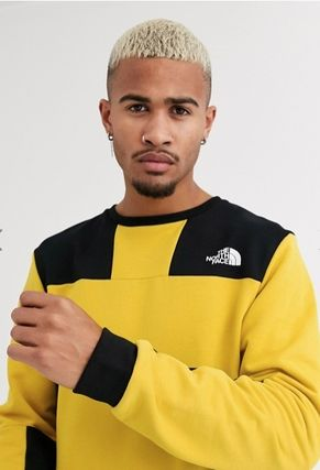 THE NORTH FACE Sweatshirts Crew Neck Pullovers Unisex Street Style Long Sleeves Plain 5