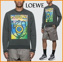 LOEWE Crew Neck Sweat Long Sleeves Sweatshirts