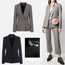 Stella McCartney Other Check Patterns Wool Plain Jackets