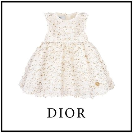 Dior 2019 20aw Plumeulle Dress White 03m 36m 9hbh31drsa Y284
