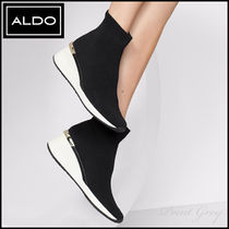ALDO [ALDO] Stretch Socks Wedge Sneaker - Astirecia