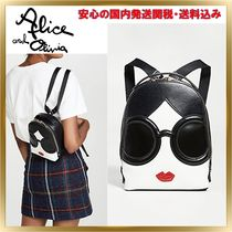 Alice+Olivia Casual Style Leather Tribal Backpacks