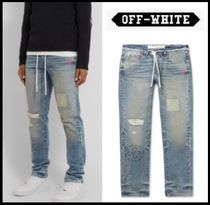 Off-White Denim Plain Jeans & Denim