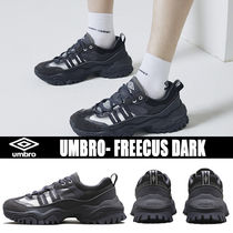 UMBRO BUMPY Blended Fabrics Street Style Plain Leather Sneakers