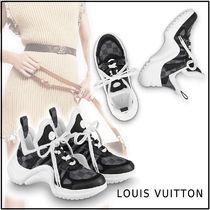 Louis Vuitton 2019-20AW LV ARCHLIGHT SNEAKER gray sneakers