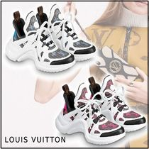 Louis Vuitton 2019-20AW LV ARCHLIGHT SNEAKER blue rose sneakers