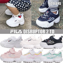FILA Blended Fabrics Street Style Kids Girl Sandals