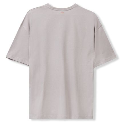 Crew Neck Pullovers Unisex Street Style Cotton Short Sleeves