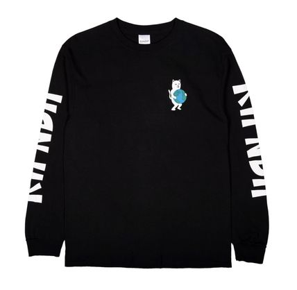 RIPNDIP Long Sleeve Street Style Long Sleeves Long Sleeve T-shirt Logo 2