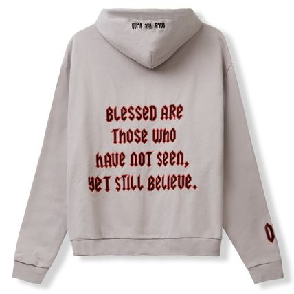 Pullovers Unisex Sweat Street Style Long Sleeves Hoodies
