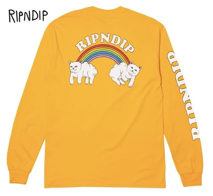 Long Sleeve T-shirt Graphic Prints Skater Style Long Sleeves
