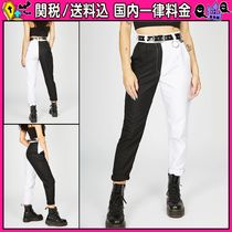 DOLLS KILL Casual Style Cotton Long Cropped & Capris Pants