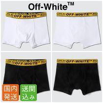Off-White Street Style Plain Cotton Boxer Briefs
