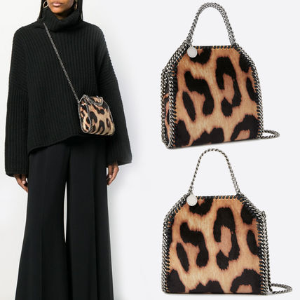 Leopard Patterns 2WAY Chain Totes