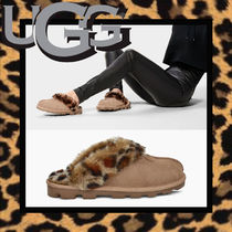UGG Australia COQUETTE Leopard Patterns Casual Style Sheepskin Blended Fabrics