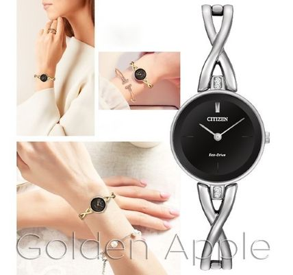 Round Stainless Elegant Style Analog Watches