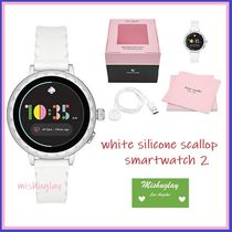kate spade new york Silicon Round Digital Watches