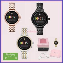 kate spade new york Round Stainless Digital Watches