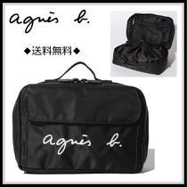 Agnes b Unisex Street Style Mothers Bags