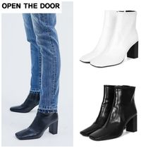 OPEN THE DOOR Mid Heel Boots