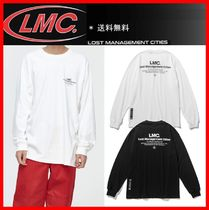 LMC Unisex Street Style Long Sleeves Cotton Long Sleeve T-shirt