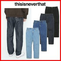 thisisneverthat Street Style Jeans