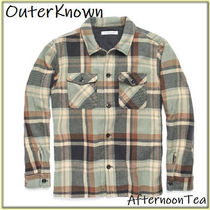 Ron Herman Button-down Other Check Patterns Long Sleeves Cotton