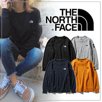 THE NORTH FACE Unisex Plain Sweatshirts